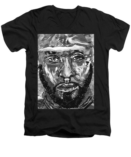 Man Of Steel Men's V-Neck T-Shirt