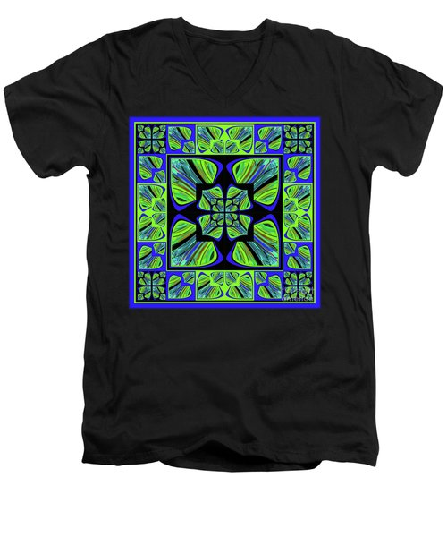 Mandala #22 Men's V-Neck T-Shirt