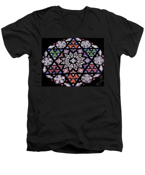 Mandala Of Hope Phase 2 Men's V-Neck T-Shirt