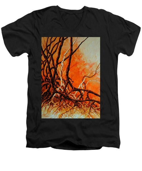 Mangroves Men's V-Neck T-Shirt