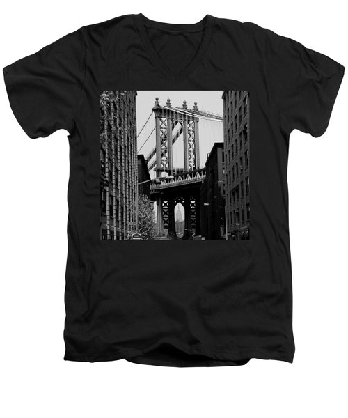 Manhattan Empire Men's V-Neck T-Shirt