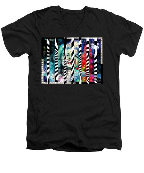 Marilyn Sis 1 Men's V-Neck T-Shirt