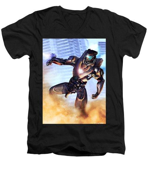 Mark IIi Titan Men's V-Neck T-Shirt