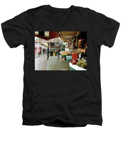 Market Alley Wares Men's V-Neck T-Shirt