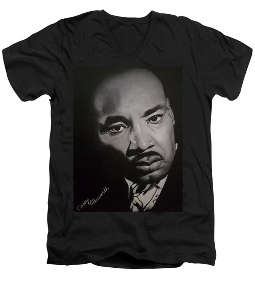 Martin Luther King Men's V-Neck T-Shirt