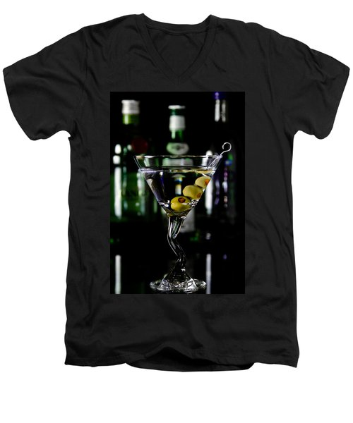 Martini Men's V-Neck T-Shirt