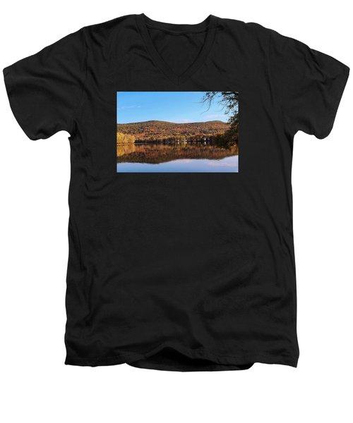 Mass Audubon Arcadia Wildlife Sanctuary Easthampton Men's V-Neck T-Shirt