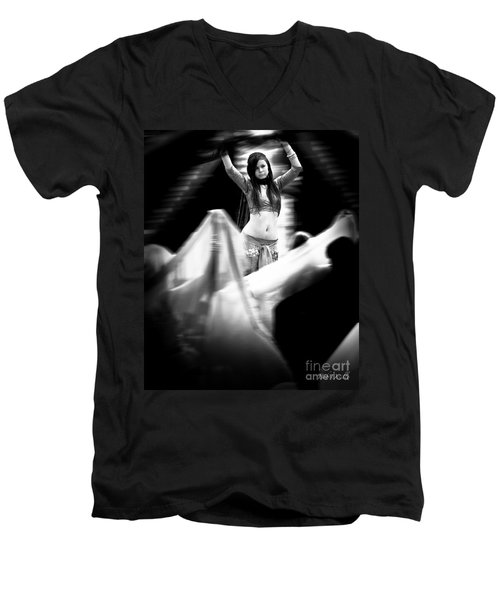 Mata Hari Men's V-Neck T-Shirt