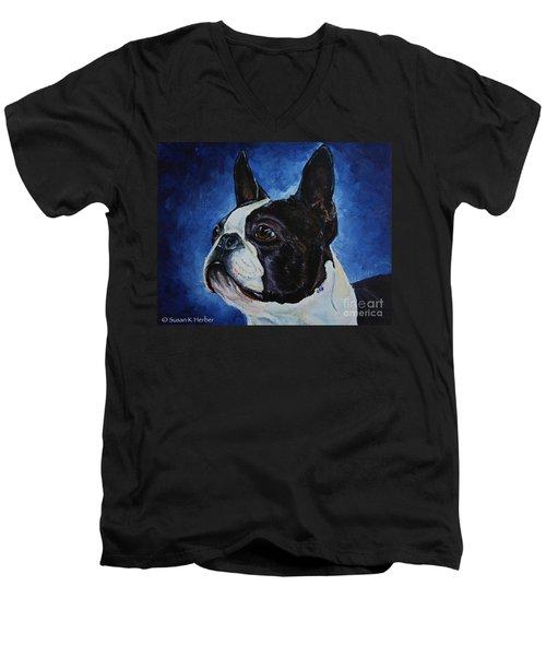 Matt Men's V-Neck T-Shirt