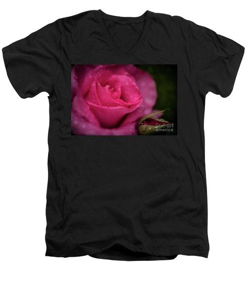 Mccartney Rose Men's V-Neck T-Shirt