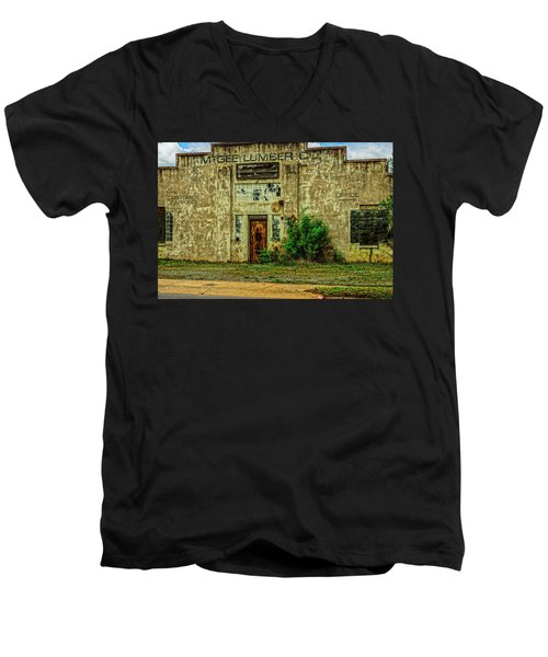 Mcgee Lumber 2 Men's V-Neck T-Shirt