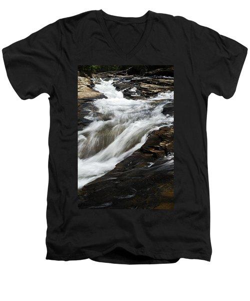 Meadow Run Water Slide 2 Men's V-Neck T-Shirt