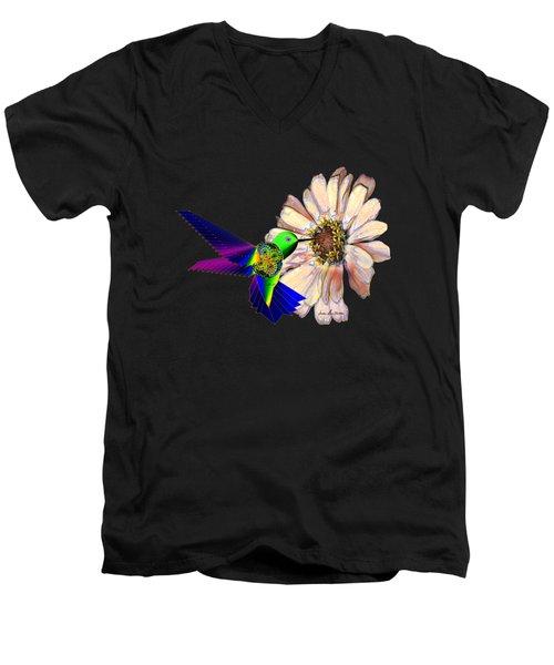 Mecha Whirlygig Men's V-Neck T-Shirt