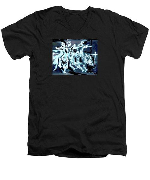Medieval Forces Men's V-Neck T-Shirt