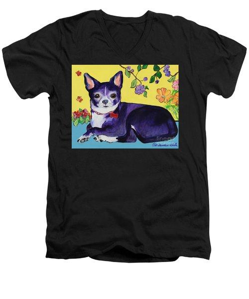 Meelah Men's V-Neck T-Shirt