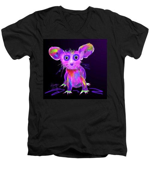 Meep Men's V-Neck T-Shirt by DC Langer