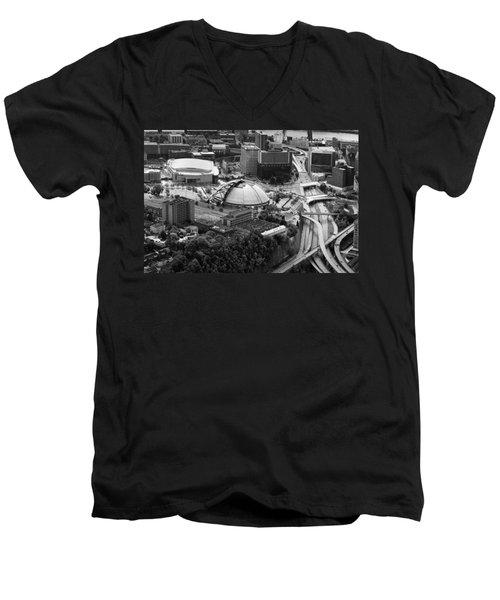 Mellon Arena  Men's V-Neck T-Shirt