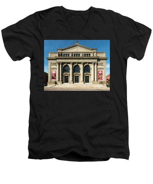 Memorial Hall Men's V-Neck T-Shirt