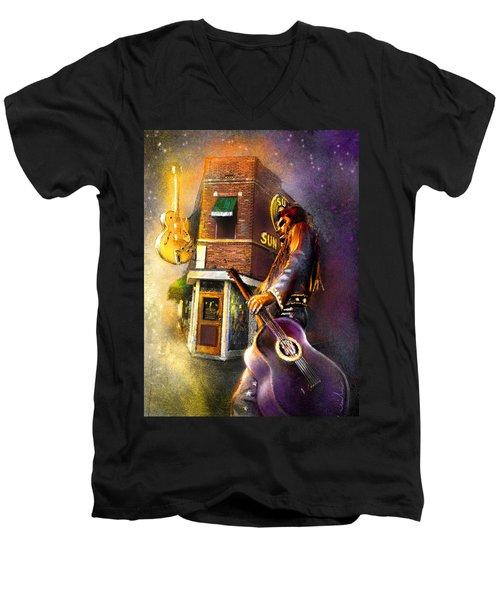 Memphis Nights 06 Men's V-Neck T-Shirt