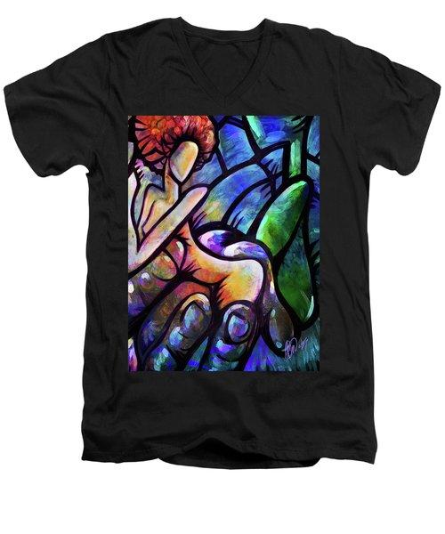 Mercy's Hand Men's V-Neck T-Shirt