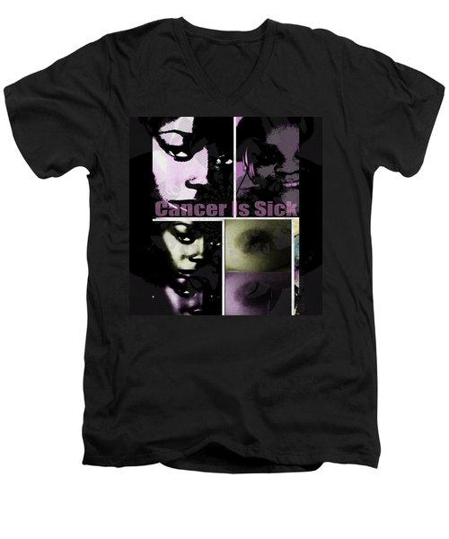 Message For All Men's V-Neck T-Shirt