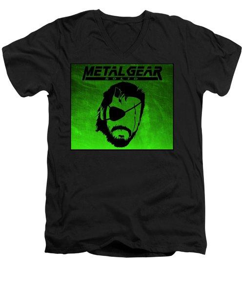 Metal Gear Solid Men's V-Neck T-Shirt
