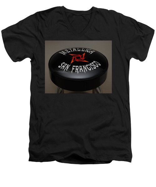Metallica Bar Stool Men's V-Neck T-Shirt