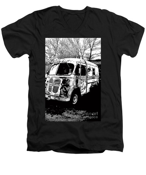 Metro Van Side Men's V-Neck T-Shirt