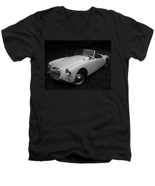 Mg - Morris Garages Men's V-Neck T-Shirt