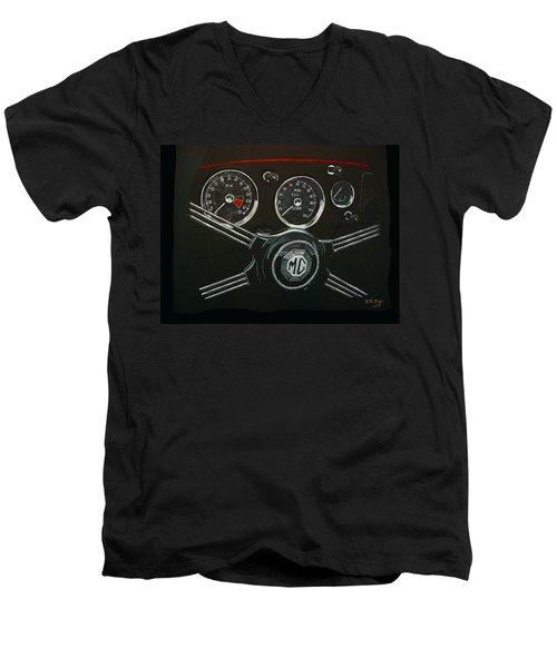 Mga Dash Men's V-Neck T-Shirt