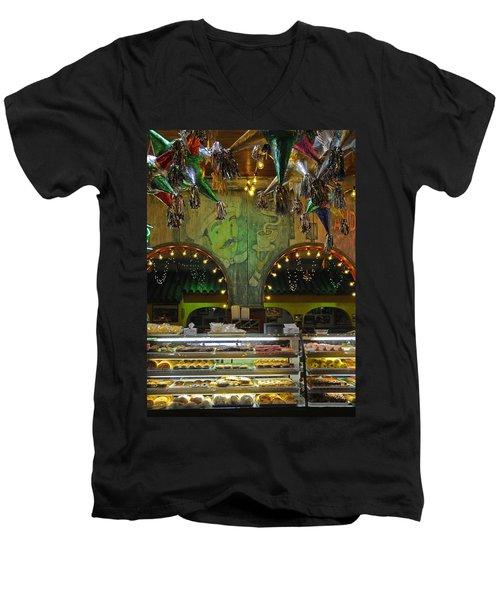 Mi Tierra Men's V-Neck T-Shirt