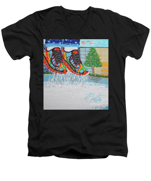 Mia's Water Sport Men's V-Neck T-Shirt