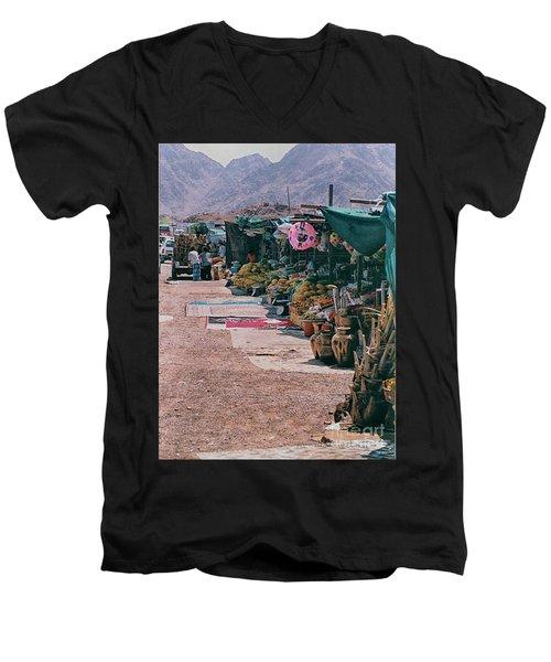 Middle-east Market Men's V-Neck T-Shirt