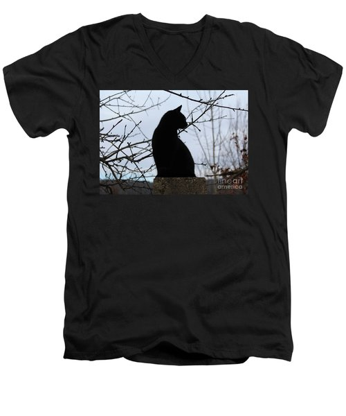 Midi 1 Men's V-Neck T-Shirt
