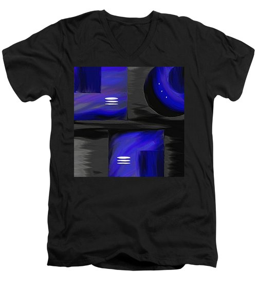 Midnight Men's V-Neck T-Shirt