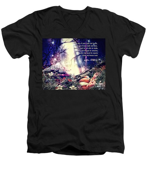 Midsummer Night Dream Men's V-Neck T-Shirt