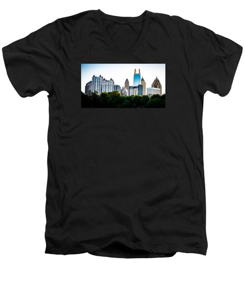 Midtown Skyline Men's V-Neck T-Shirt