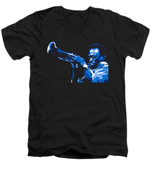 Miles Davis Men's V-Neck T-Shirt