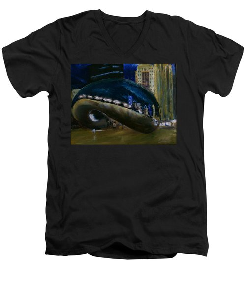 Millennium Park - Chicago Men's V-Neck T-Shirt