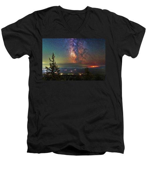 Milli Fire Men's V-Neck T-Shirt