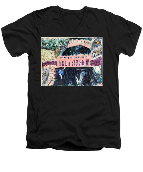 Milton Center Men's V-Neck T-Shirt