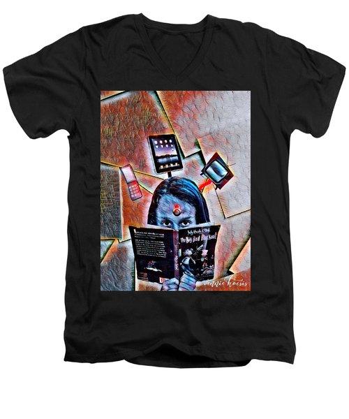 Mind Lock Men's V-Neck T-Shirt