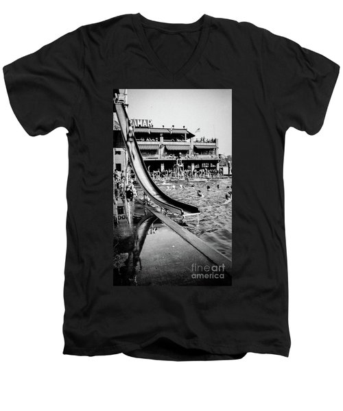 Miramar Pool  Men's V-Neck T-Shirt