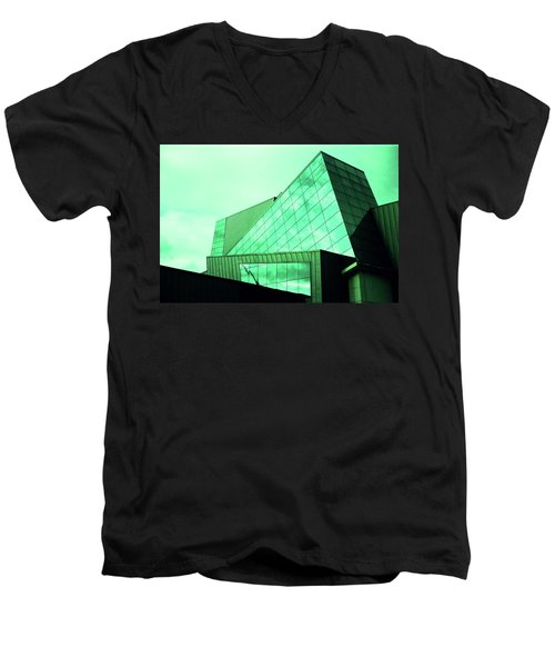 Mirror Building 3 Men's V-Neck T-Shirt