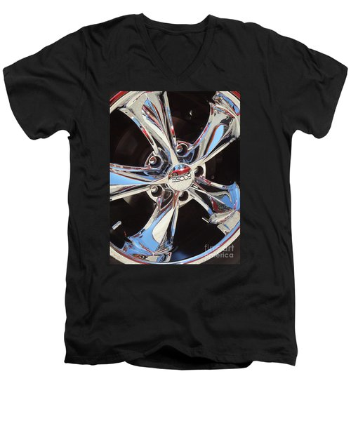 Mirror Wheel Men's V-Neck T-Shirt