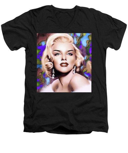 Miss Monroe Men's V-Neck T-Shirt