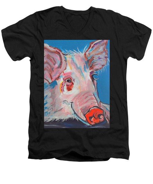 Miss Piggy Men's V-Neck T-Shirt