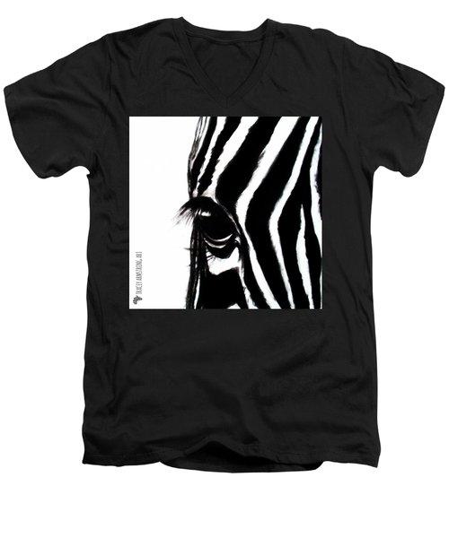 Miss Zebbie Men's V-Neck T-Shirt