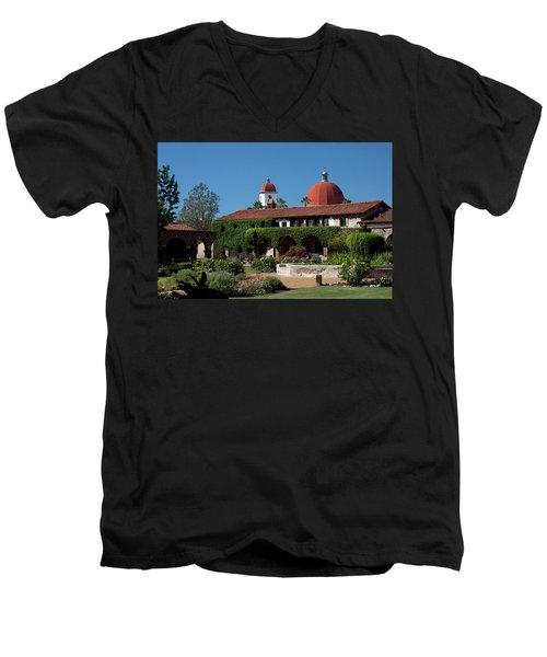 Mission Basilica Men's V-Neck T-Shirt