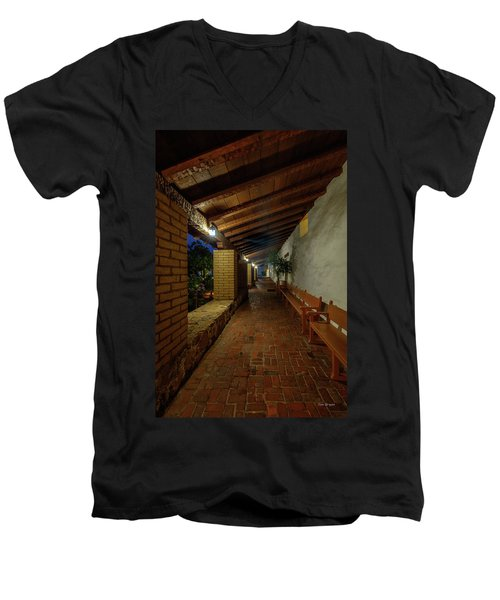 Mission San Luis Obispo Men's V-Neck T-Shirt